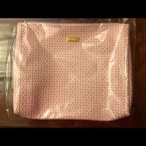 Tarte Makeup Bag Case Pink Clutch Wristlet NIP